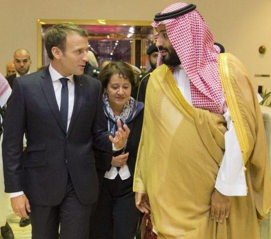 فرنسا والسعودية توقعان اتفاقات باكثر من 18 مليار دولار