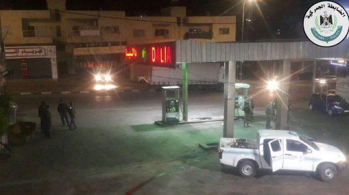 اغلاق 3 محطات عشوائية ومصادرة 16 ألف لتر وقود في العيزرية