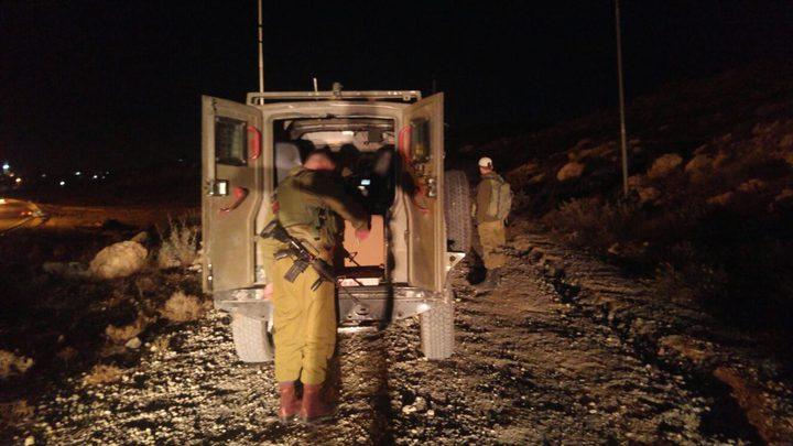 قوات الإحتلال الاسرائيلي تزعُم أن مجموعة مسلحين أطقوا النار تجاه مستوطنة شعاري تكفا
