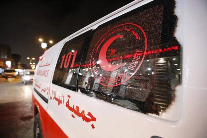"""""""الهلال الأحمر"""" تستنكر استهداف الاحتلال المباشر لمسعفيها في قطاع غزة"""