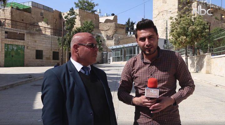 منع رفع الاذان في الحرم الإبراهيمي (فيديو)