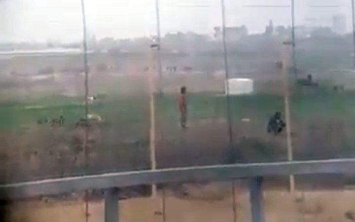 فيديو يظهر احتفال قناصة الاحتلال بقتل الفلسطينيين كما لو أنها لعبة الكترونية