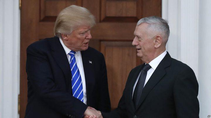 وزير الدفاع الأمريكي يصل البيت الأبيض للقاء ترامب في اجتماع مفاجأ