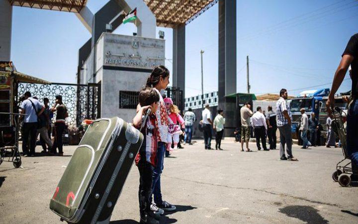 سفارة فلسطين في القاهرة: فتح معبر رفح البري ثلاثة ايام بدء من غد الخميس في الاتجاهين