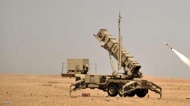 الدفاع الجوي السعودي يعترض صاروخا أطلقه الحوثيون على جازان
