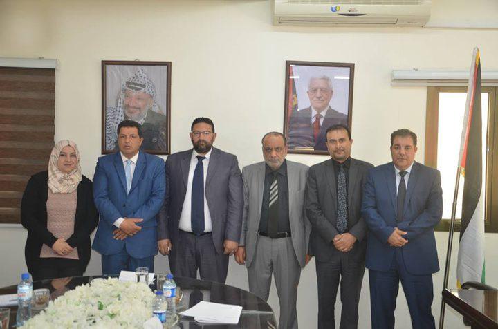 المحامي عبد العزيز الغلاييني نائبا لنقيب المحامين مركز غزة