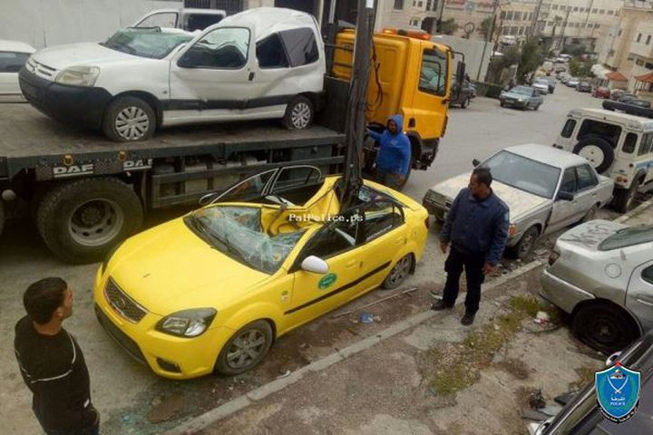 الشّرطة تتلف 22 مركبة غير قانونيّة