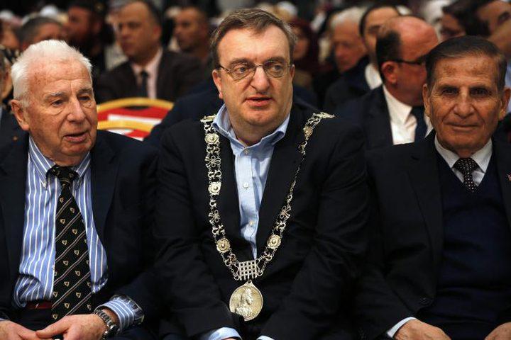 رئيس بلديّة دبلن يؤكّد دعم بلادِه لفلسطين والقدس