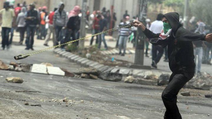 مواجهات بين المواطنين وقوات الاحتلال وسط الخليل