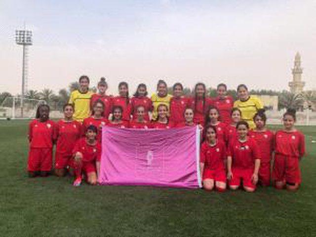 منتخبنا الوطني للفتيات يخوض تحدي قبل النهائي من بطولة غرب آسيا أمام لبنان