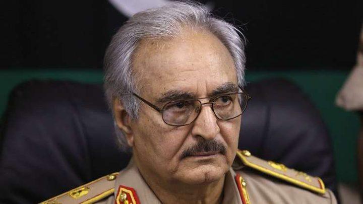 رئيس أركان الجيش الليبي ينفي تكليفه بمهام المشير خليفة حفتر