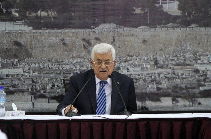 الرئيس عباس يبحث مع نظيره التونسي الأوضاع في المنطقة