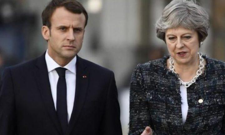 """القناة العاشرة تكشف: اتصالات """"إسرائيلية"""" بريطانية فرنسية سبقت ضرب سورية"""