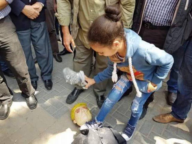 وقفة تضامنية مع سوريا في نابلس