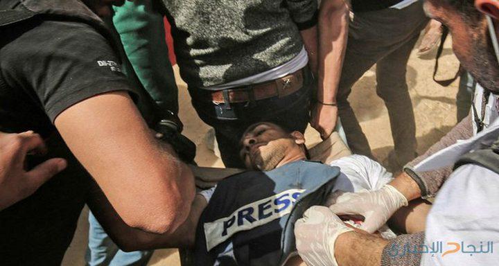 """""""فتح"""": استهداف الطواقم الطبية والصحفيين جريمة تحتاج لوقفة جادة من المجتمع الدولي"""
