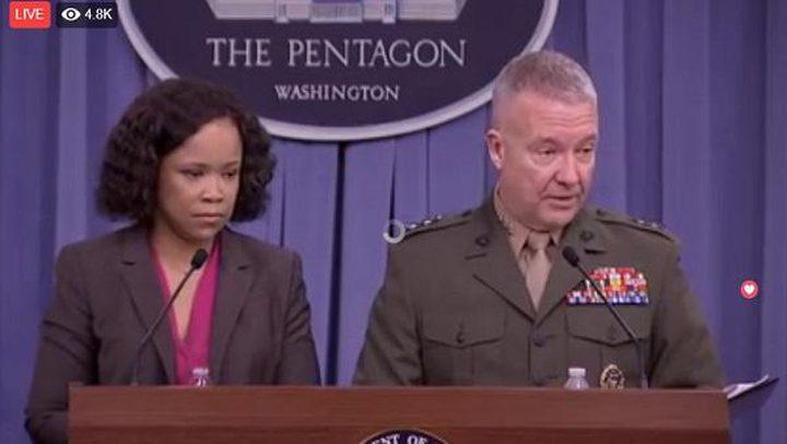 """البنتاجون: لا نسعى للصراع فى سوريا.. وضرباتنا استهدفت مركز أبحاث """"برزا"""" بـ76 صاروخًا"""