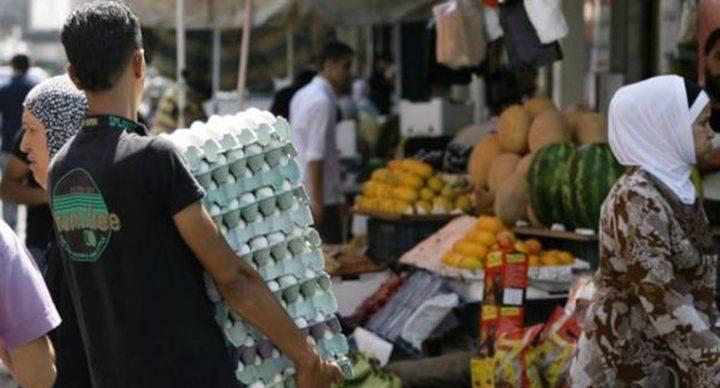 4600 شيكل متوسط إنفاق الأسرة الشهري في فلسطين