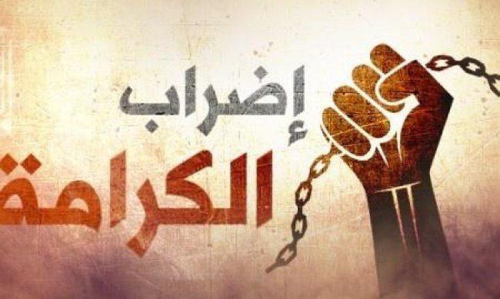 7 أسرى يواصلون إضراباً مفتوحاً عن الطعام