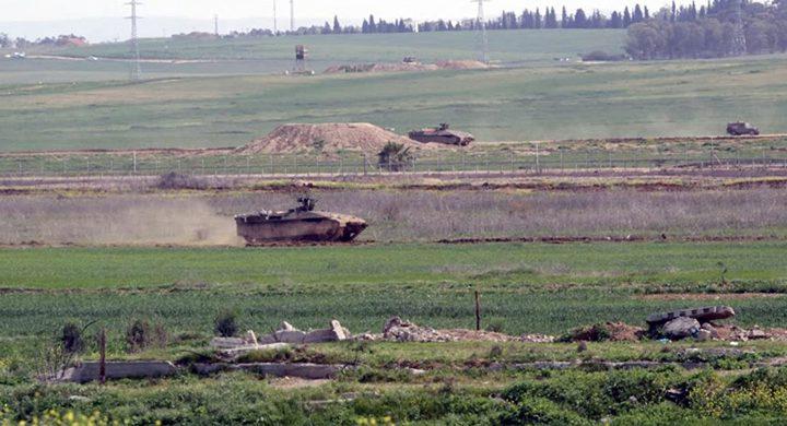 توغل لآليات الاحتلال في قطاع غزة