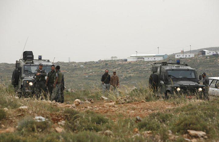 الاحتلال يستولي على خيام أقيمت على أنقاض مدرسة زنوتا
