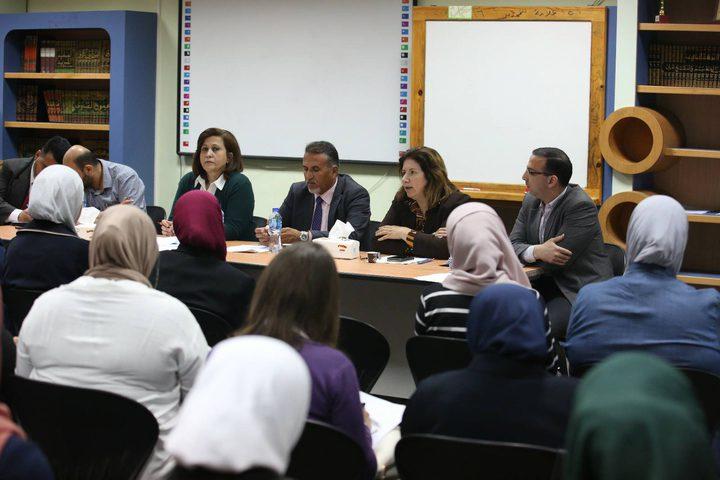 مديرية التربية والتعليم تعقد اجتماعا للمدارس الخاصة