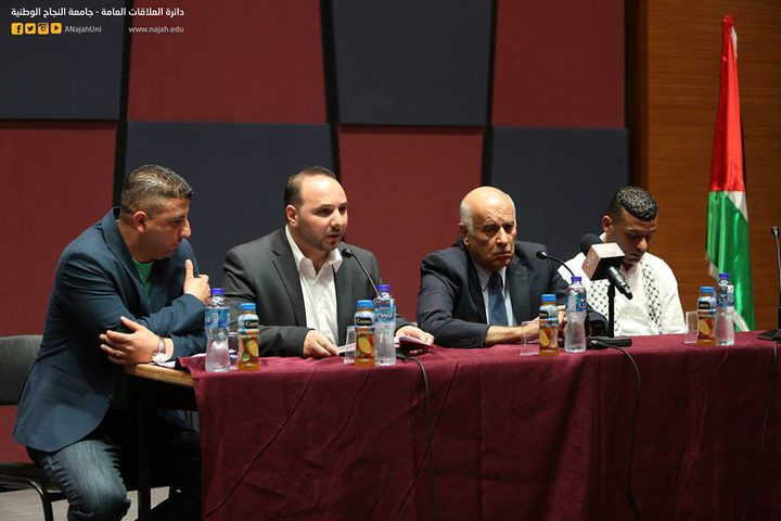الرجوب: مستعدون لتأجيل عقد المجلس الوطني إلى حين التوافق بين أطراف الإنقسام