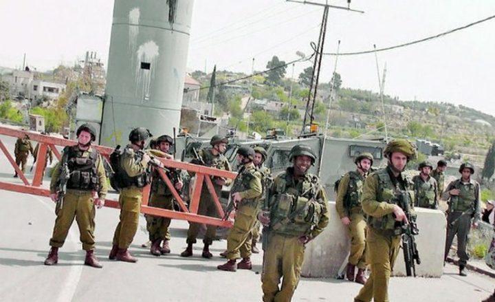 الاحتلال يفرض اغلاقًا على الضفة والقطاع لـ 3 أيام