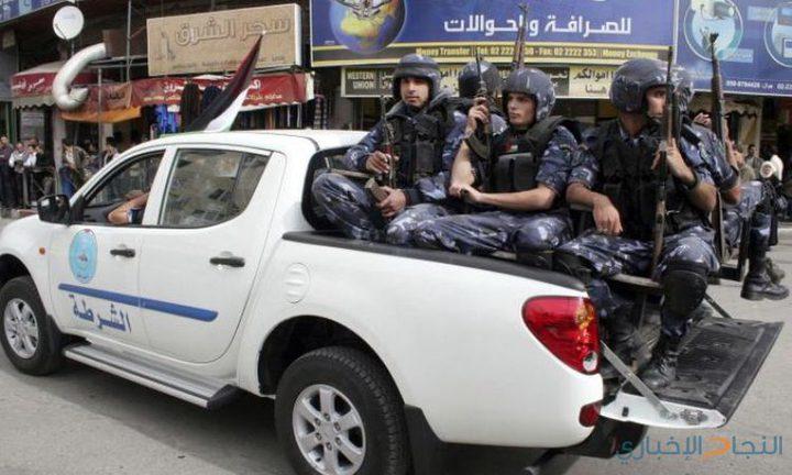 شرطة نابلس تتعامل مع عشرات القضايا خلال الاسبوع الماضي