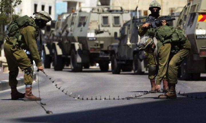 الاحتلال يفرض إغلاقاً شاملاً على الضفة الغربية وغزة لمدة ثلاثة أيام