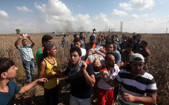 إصابتان برصاص قوات الاحتلال شرق خانيونس وغزة