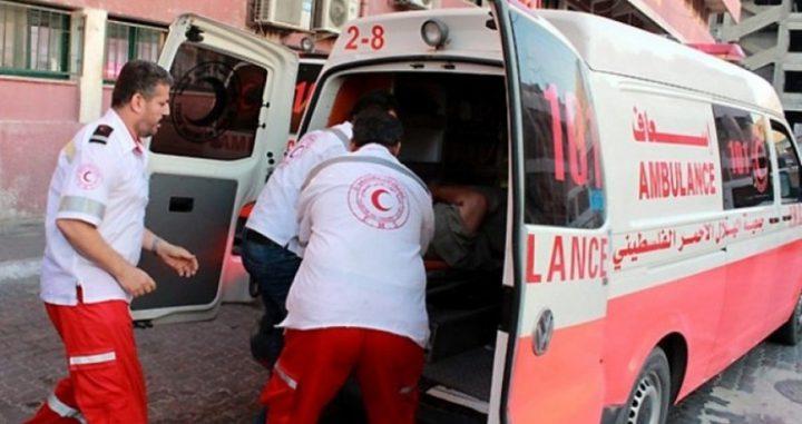 إصابة طفل بحادث سير في غزة
