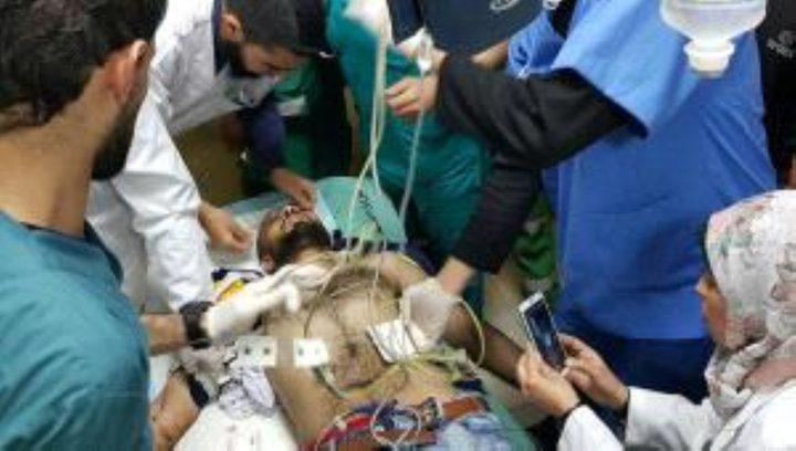 """تراجع كبير على الوضع الصحي للصحفي """"أبو حسين"""""""