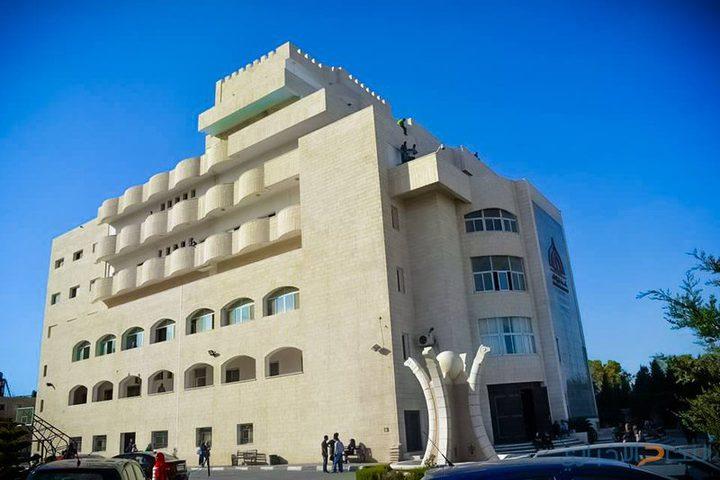 انتخابات مجلس اتحاد طلبة كلية فلسطين الاهلية الجامعية يوم 9 ايار