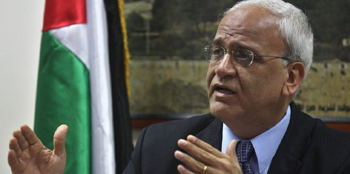 عريقات: قدمنا 3 ملفات حول الجرائم الإسرائيلية للجنائية الدولية