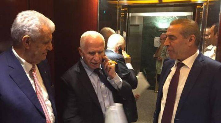 """وفد """"فتح"""" يجتمع مع رئيس المخابرات المصرية في القاهرة"""