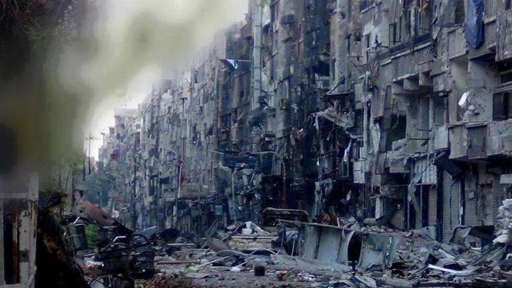 مقتل قيادات الجماعات المسلحة في مخيم اليرموك