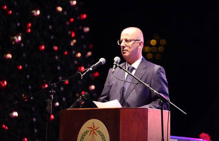 الحمدالله يدعو الكل الوطني للالتفاف حول الرئيس عباس والمشاركة في الوطني