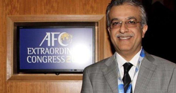 رئيس الاتحاد الآسيوي: كرة القدم الفلسطينية تشهد تطورا كبيرا ومبهرا