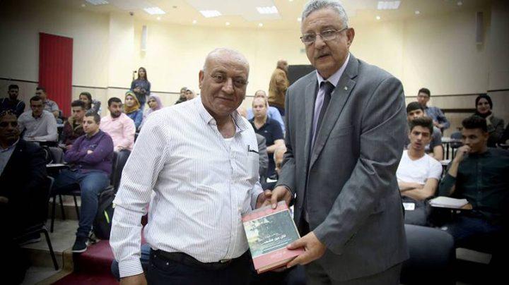 """إطلاق كتاب """"لكل عين مشهد .."""" للمؤرخ الفلسطيني ا.د. مصطفى كبها"""
