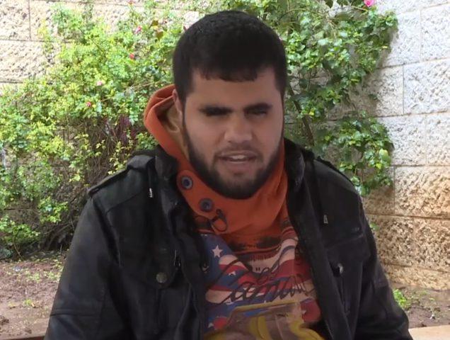 محمد عوده عجز بصره فصدح صوته(فيديو)