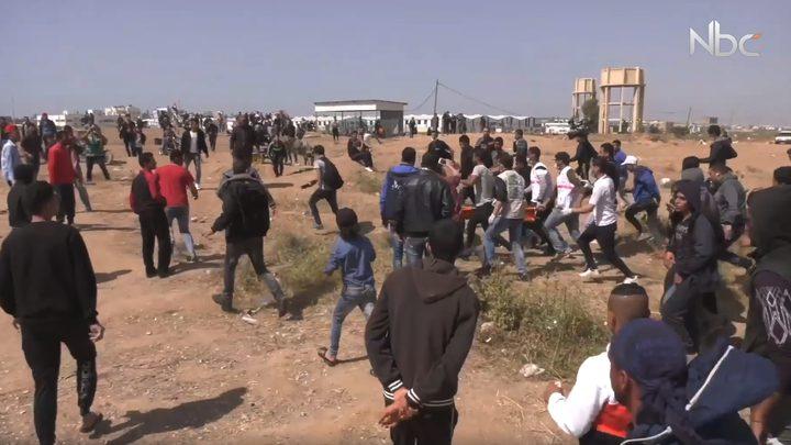 الاحتلال يستخدم أسلحة فتاكة في مسيرات العودة (فيديو)