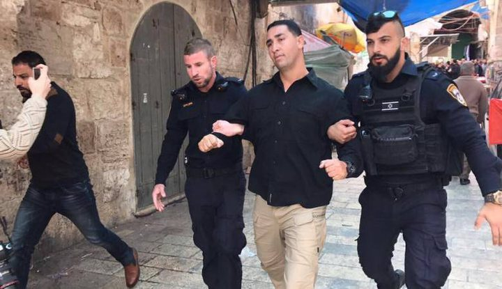 استدعاء أربعة من حراس المسجد الأقصى المبارك