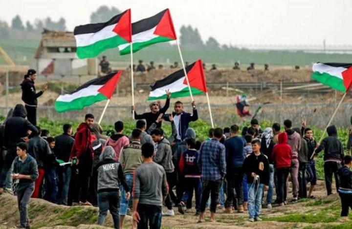 """جمعة"""" الشباب الثائر""""... 3 شهداء و 883 اصابة بجراح مختلفة و اختناق بالغاز شرق قطاع غزة"""