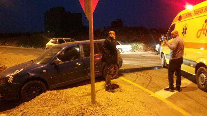 إصابة 7 مواطنين بحادث سير في سخنين
