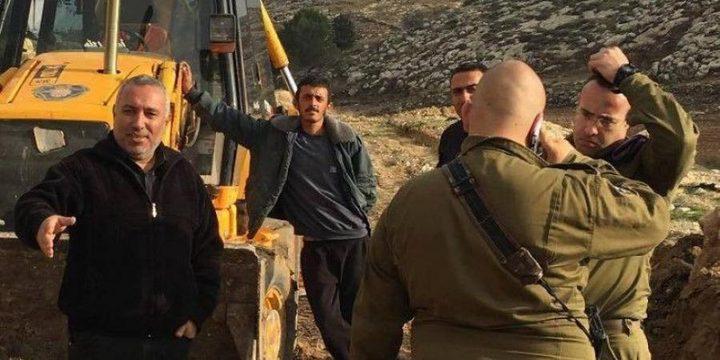 بيت لحم: الاحتلال يخطر بالاستيلاء على عشرات الدونمات في بلدة الخضر