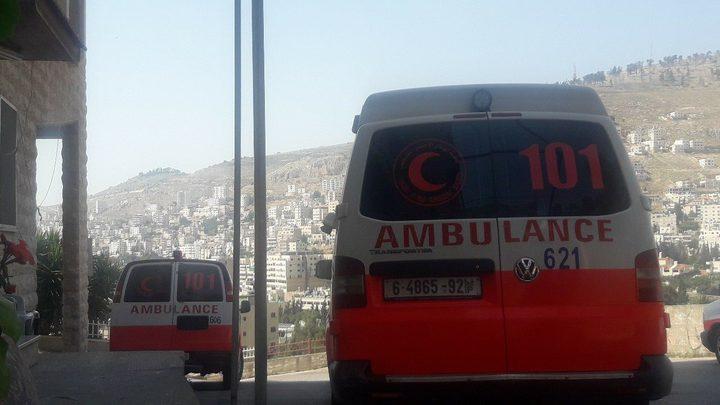إصابة ستة مواطنين في نابلس