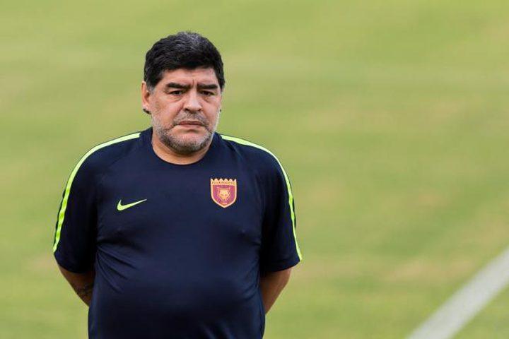 مارادونا.. إقالة ثانية في الإمارات