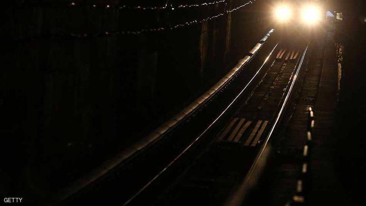 بريطاني دهسه القطار 300 مرة في يوم واحد