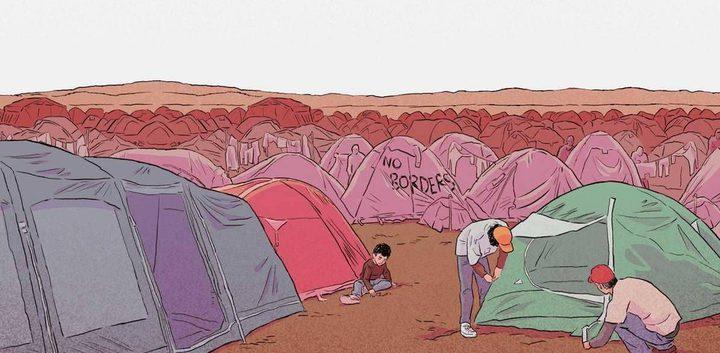 """""""تقبريني يا حبي"""".. لعبة جديدة عن النزاع السوري"""