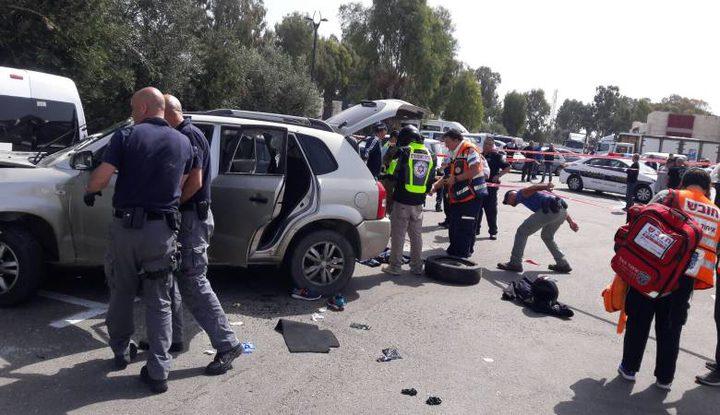 الاحتلال يزعم دهس عناصر من شرطته